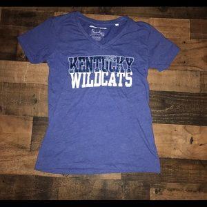 Kentucky wildcats top shirt large